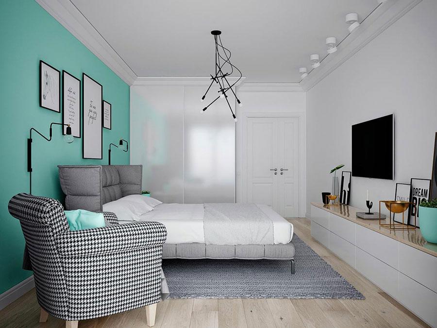 Camera da letto stile nordico n.26
