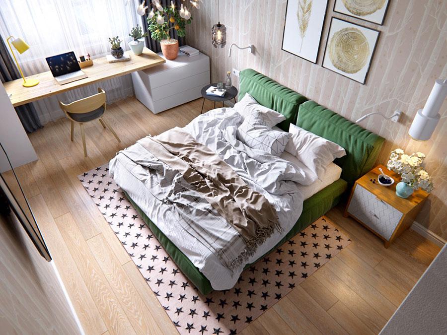 Camera da letto stile nordico n.27