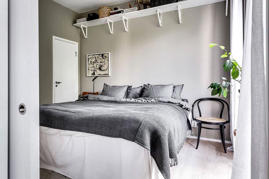 Camera da letto stile nordico n.30