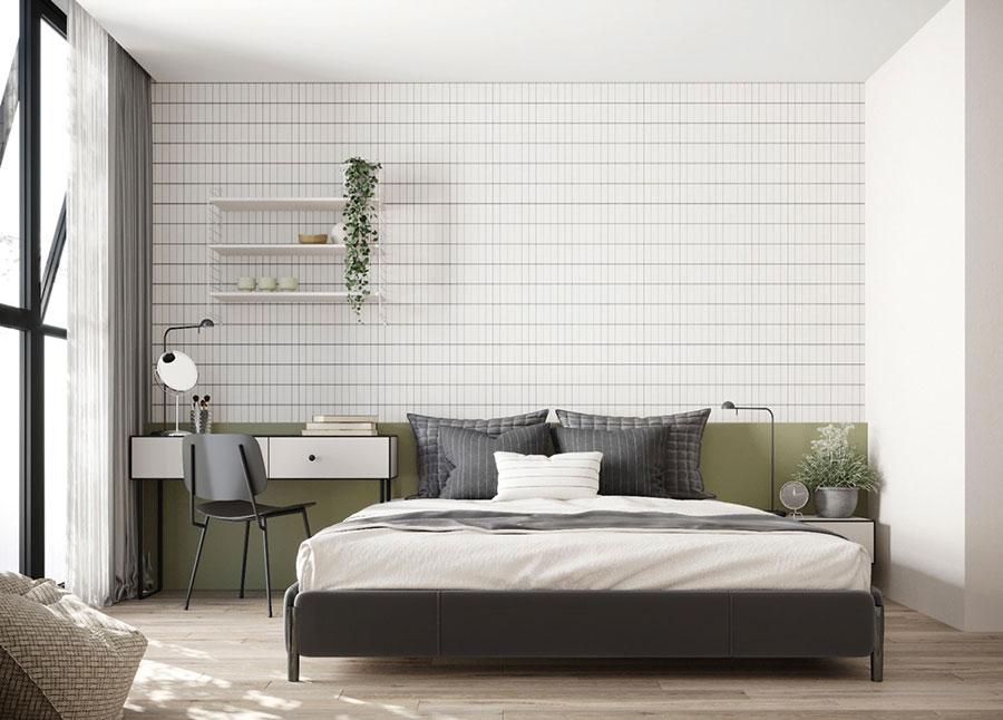 Camera da letto stile nordico n.31
