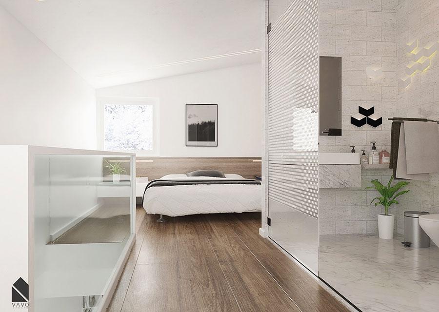 Camera da letto stile nordico n.32