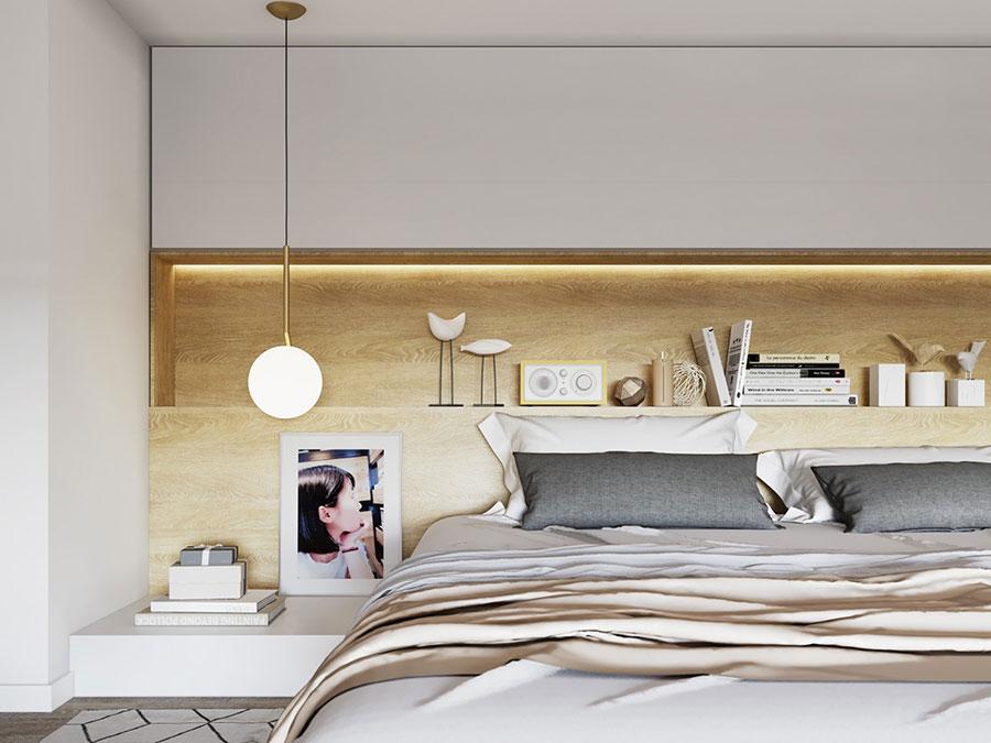 Camera da letto stile nordico n.33