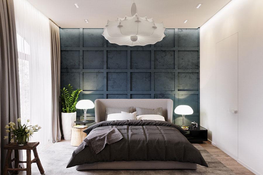 Camera da letto stile nordico n.34