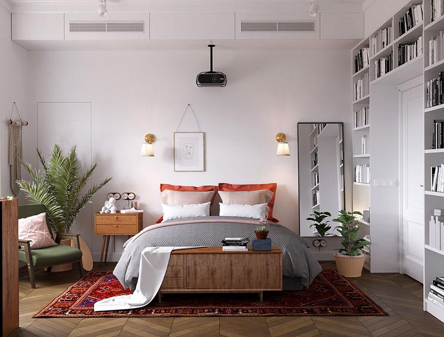 Camera da letto stile nordico n.35