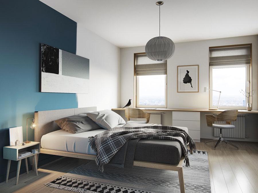 Camera da letto stile nordico n.36