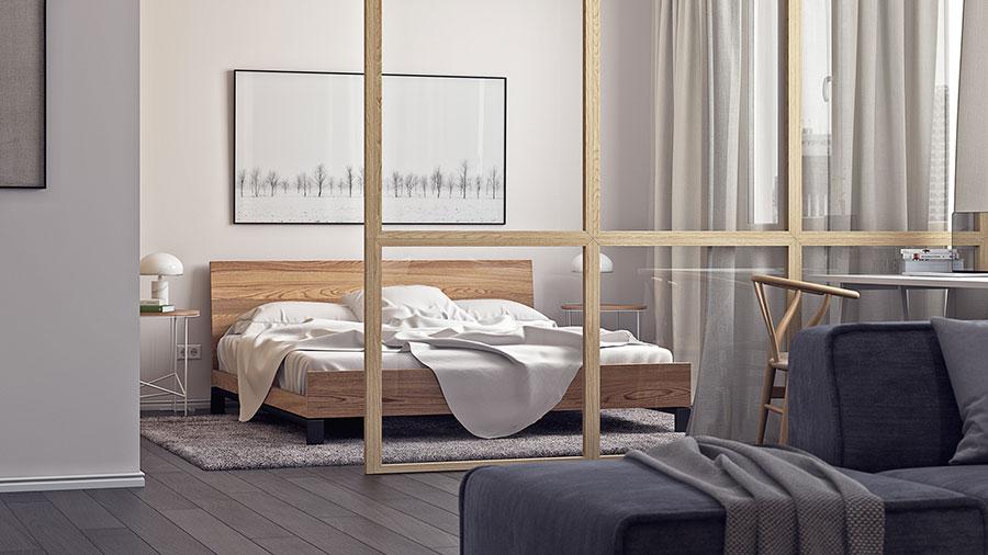 Camera da letto stile nordico n.37