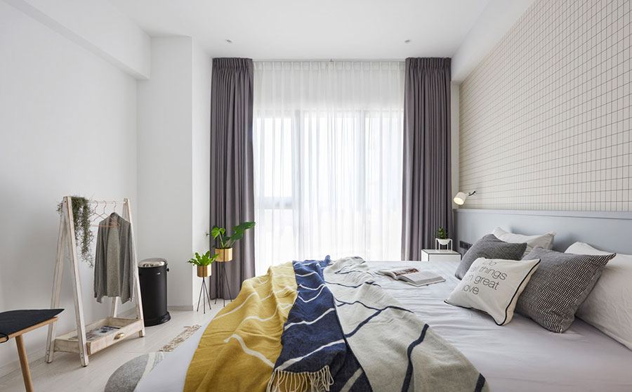 Camera da letto stile nordico n.38