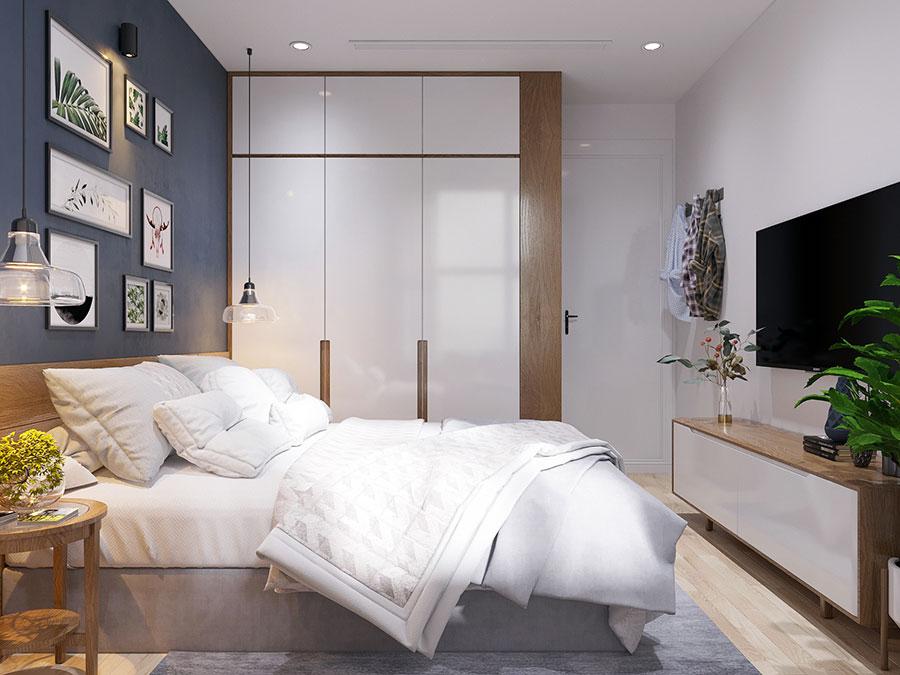 Camera da letto stile nordico n.39