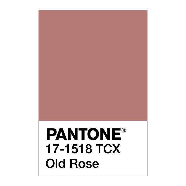Rosa antico Pantone