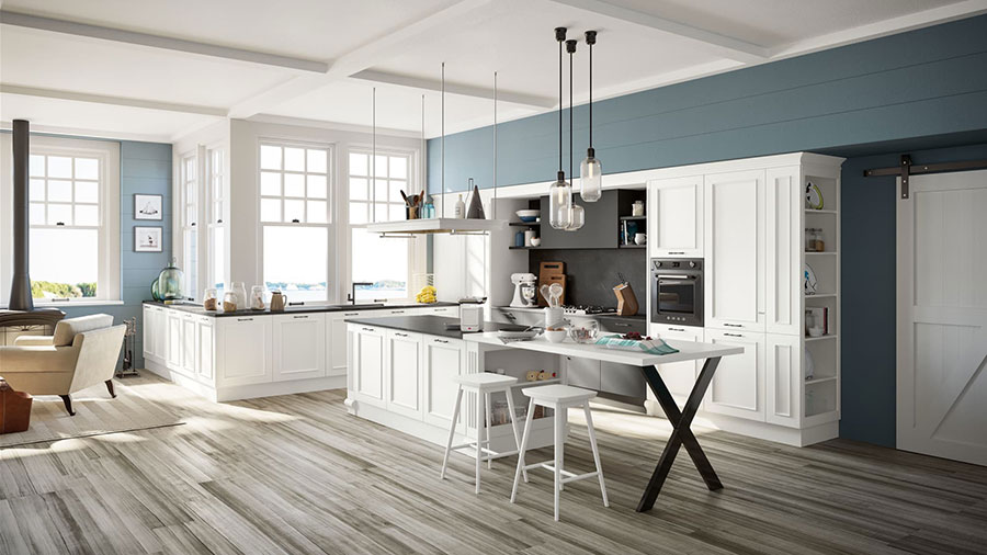 Modello di cucina classica moderna n.01