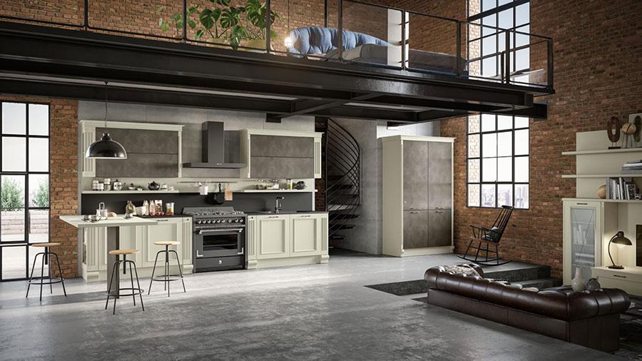 Modello di cucina classica moderna n.02