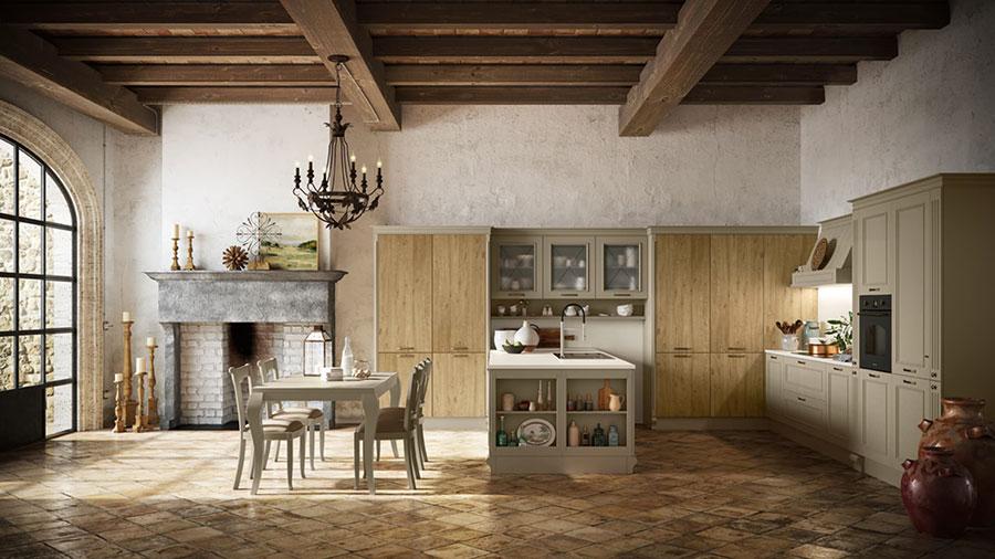 Modello di cucina classica moderna n.03