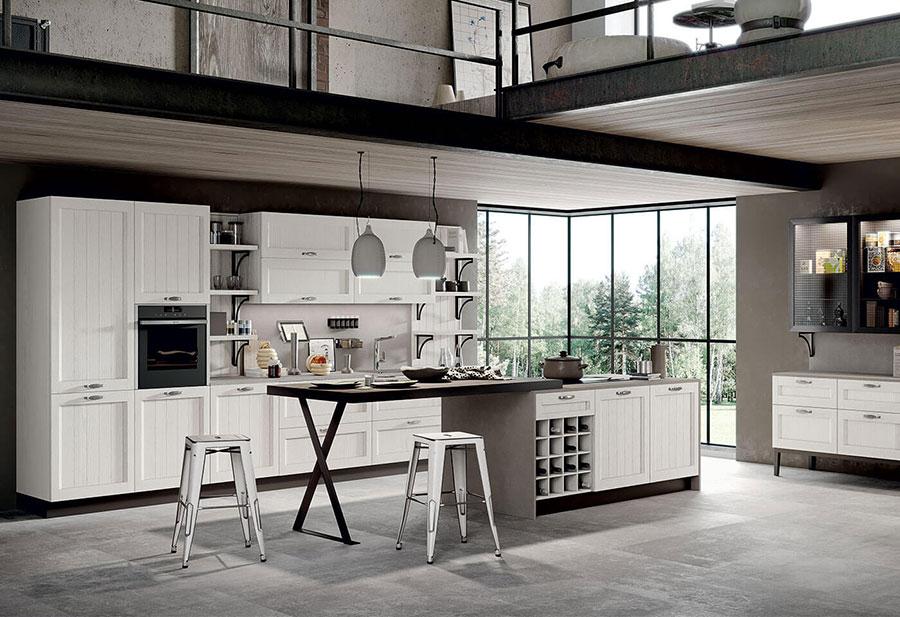 Modello di cucina classica moderna n.05