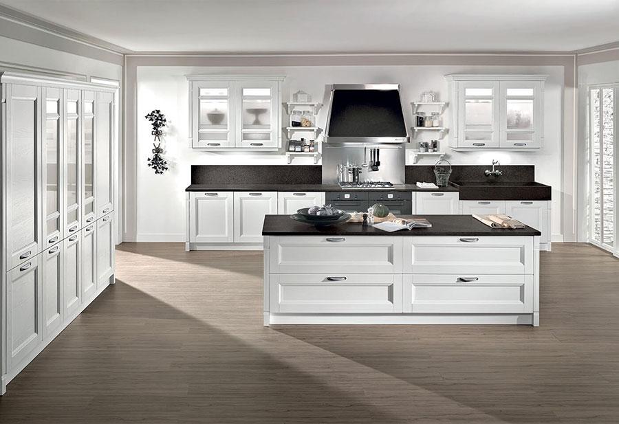 Modello di cucina classica moderna n.06