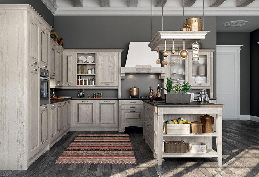 Modello di cucina classica moderna n.08