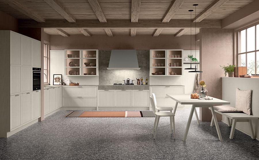 Modello di cucina classica moderna n.09