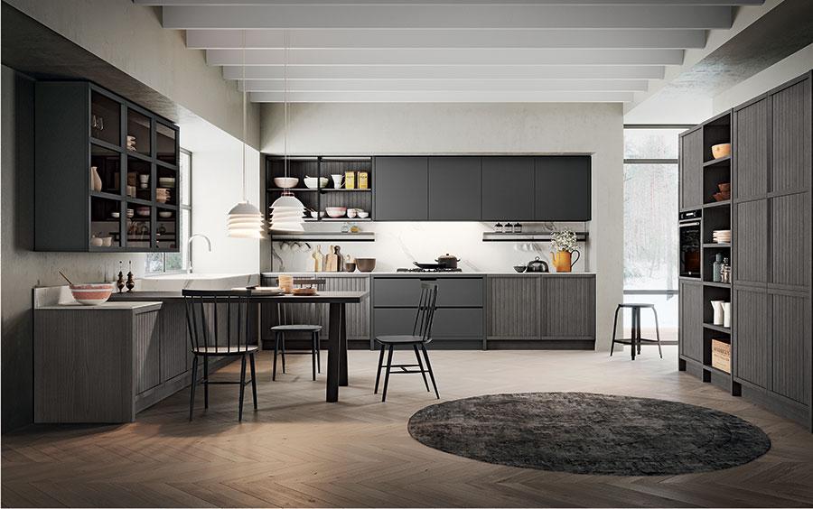Modello di cucina classica moderna n.10