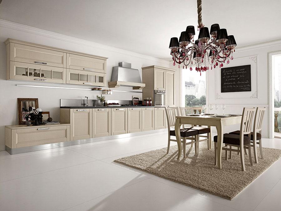 Modello di cucina classica moderna n.11