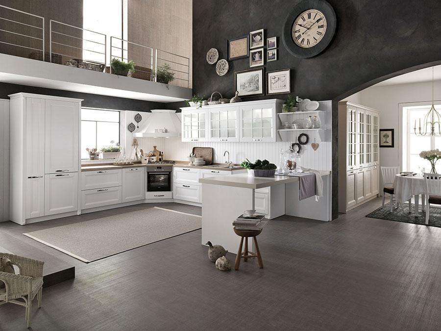 Modello di cucina classica moderna n.13