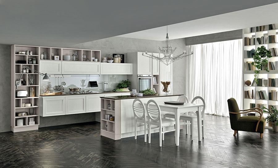 Modello di cucina classica moderna n.14