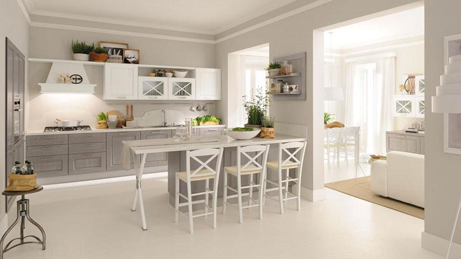 Modello di cucina classica moderna n.15