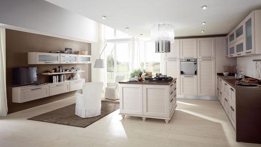 Modello di cucina classica moderna n.16