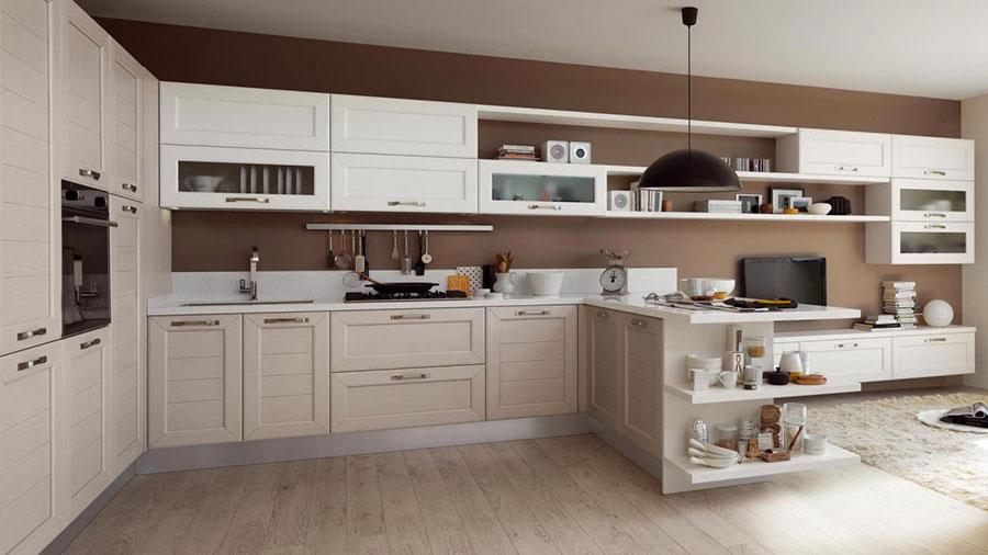 Modello di cucina classica moderna n.18