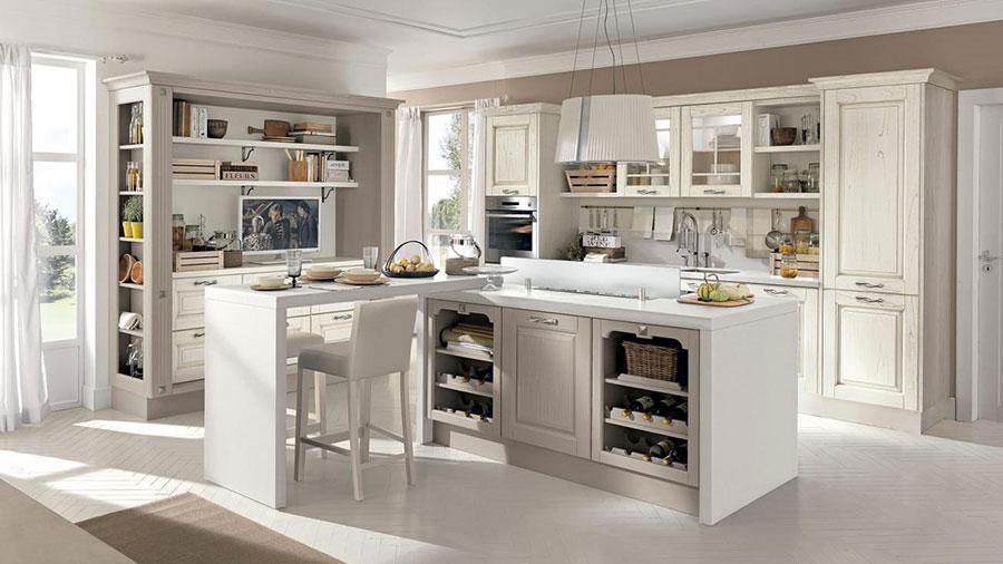 Modello di cucina classica moderna n.20