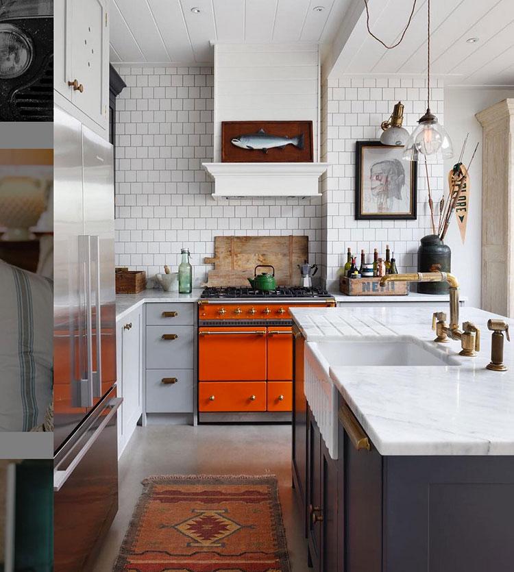 Modello di cucina vintage anni '60 02