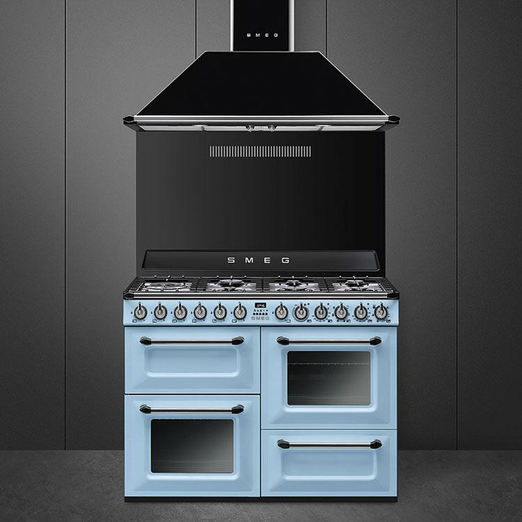 Modello di cucina vintage Smeg n.01