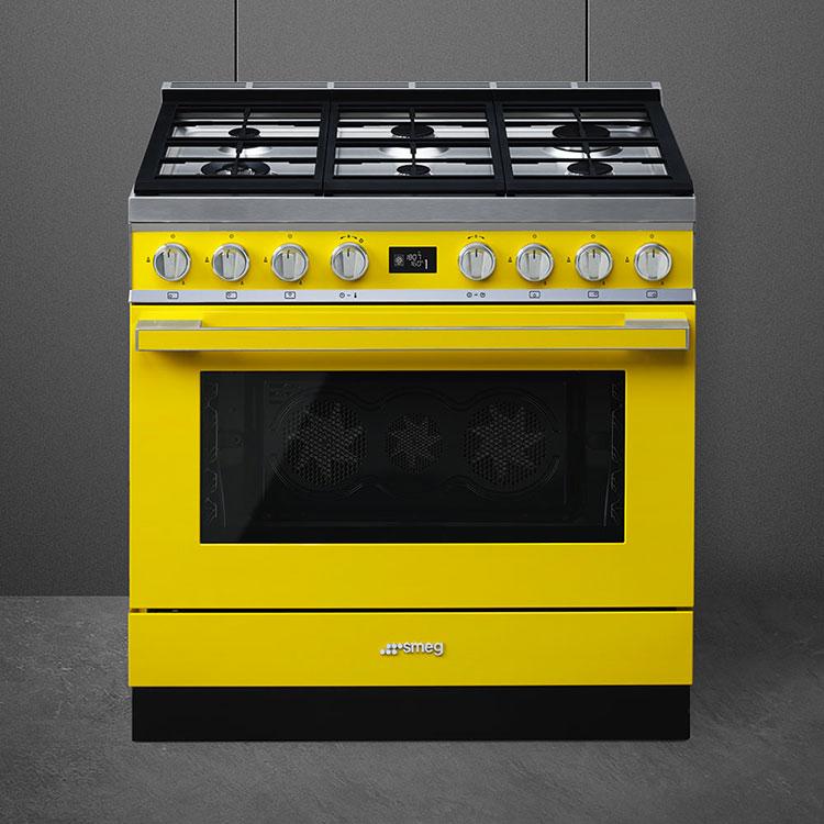 Modello di cucina vintage Smeg n.02