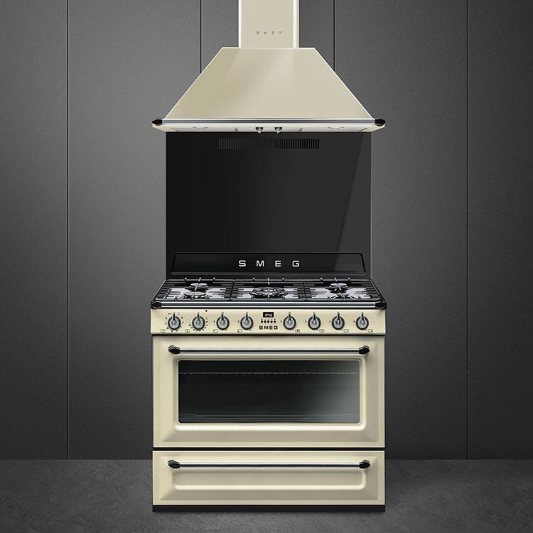 Modello di cucina vintage Smeg n.03