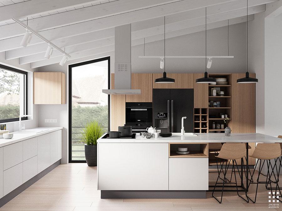 Idee per arredare una cucina in stile scandinavo n.35