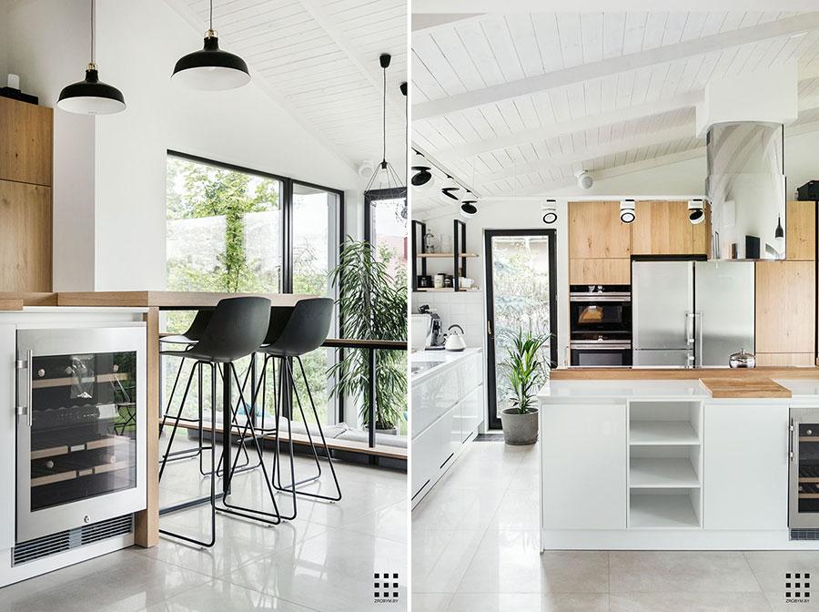Idee per arredare una cucina in stile scandinavo n.36