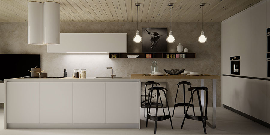 Idee per arredare una cucina in stile scandinavo n.37