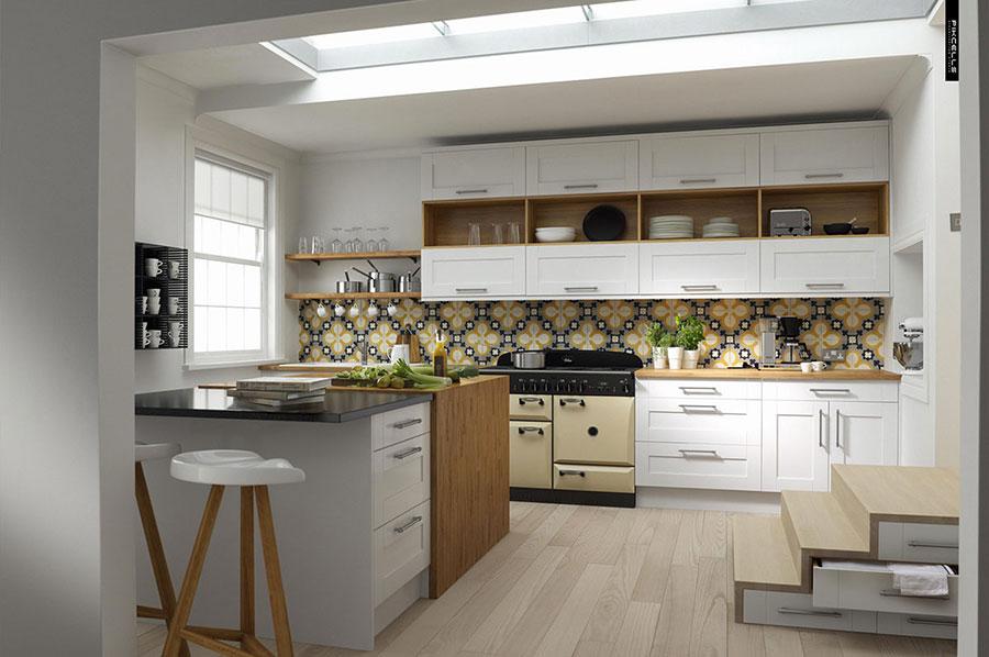 Idee per arredare una cucina in stile scandinavo n.39