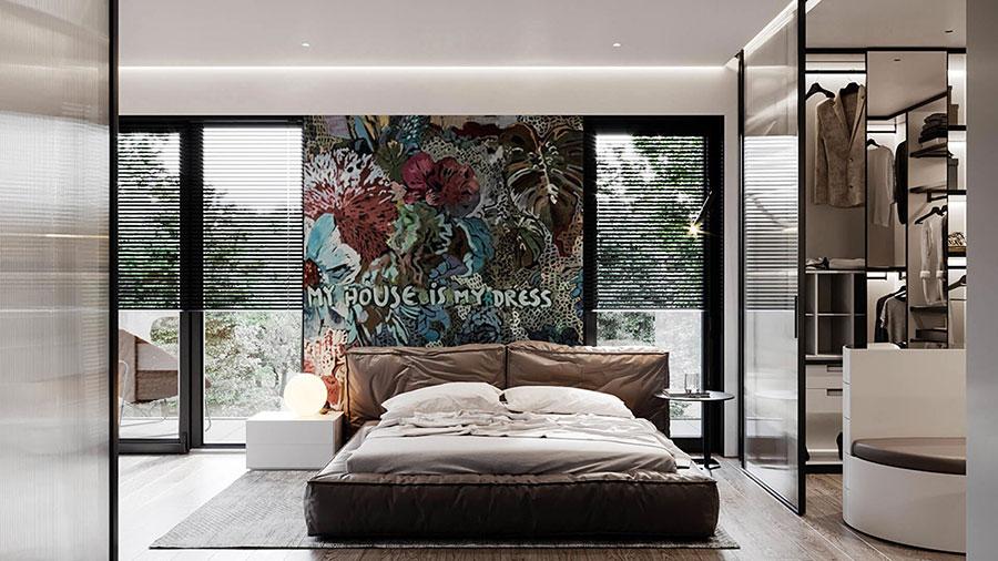 Idee per decorare la camera da letto n.01