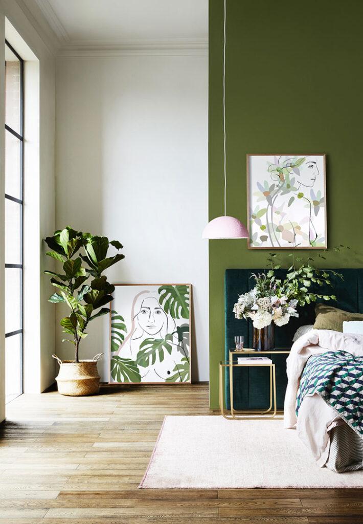 Idee per decorare la camera da letto n.06