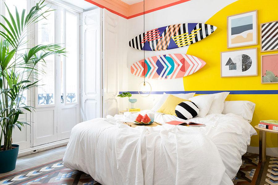 Idee per decorare la camera da letto n.07