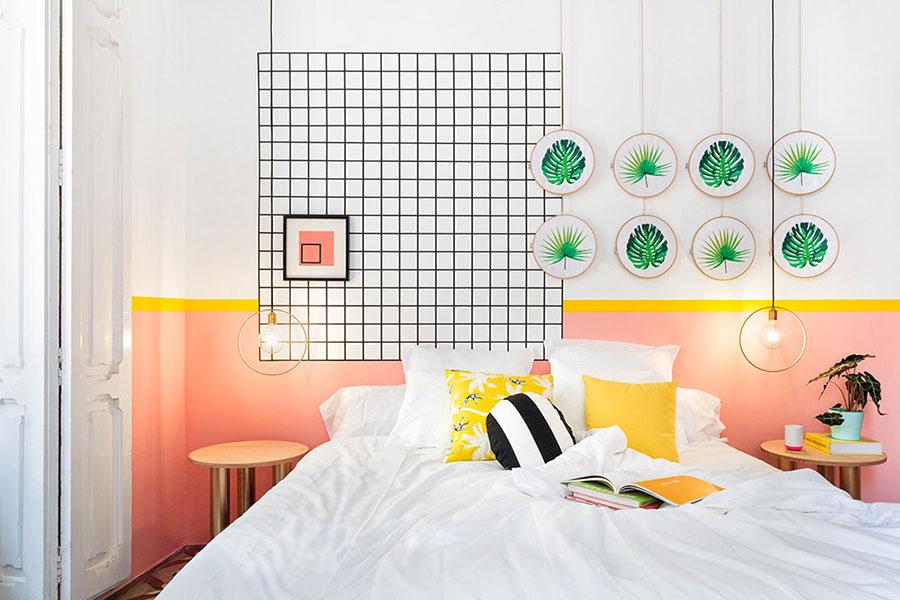 Idee per decorare la camera da letto n.08