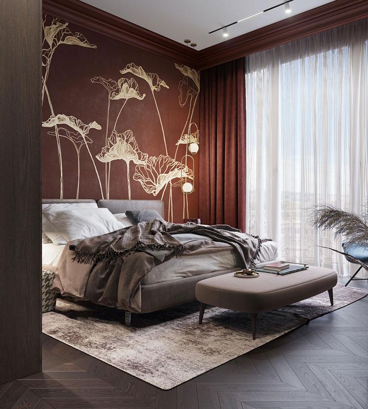Idee per decorare la camera da letto n.09