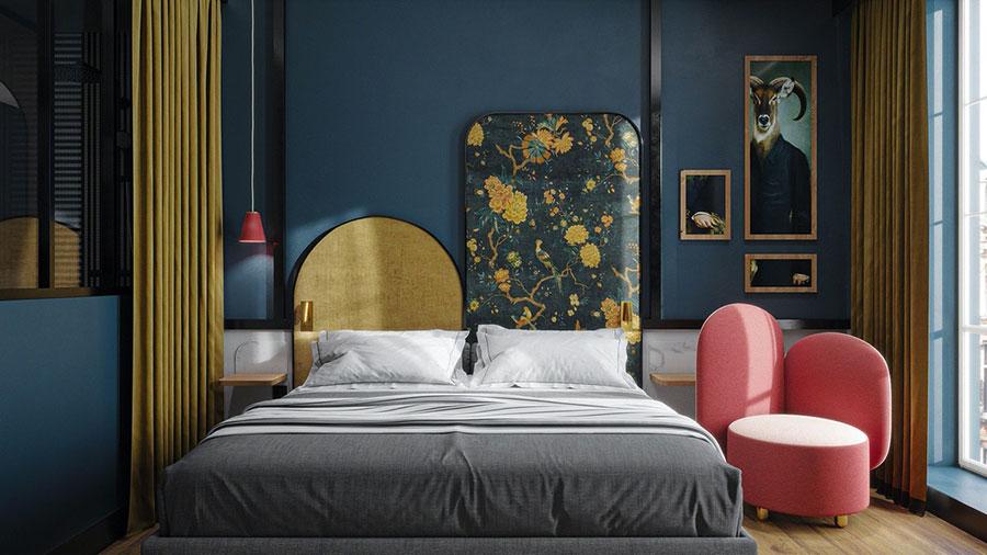 Idee per decorare la camera da letto n.10