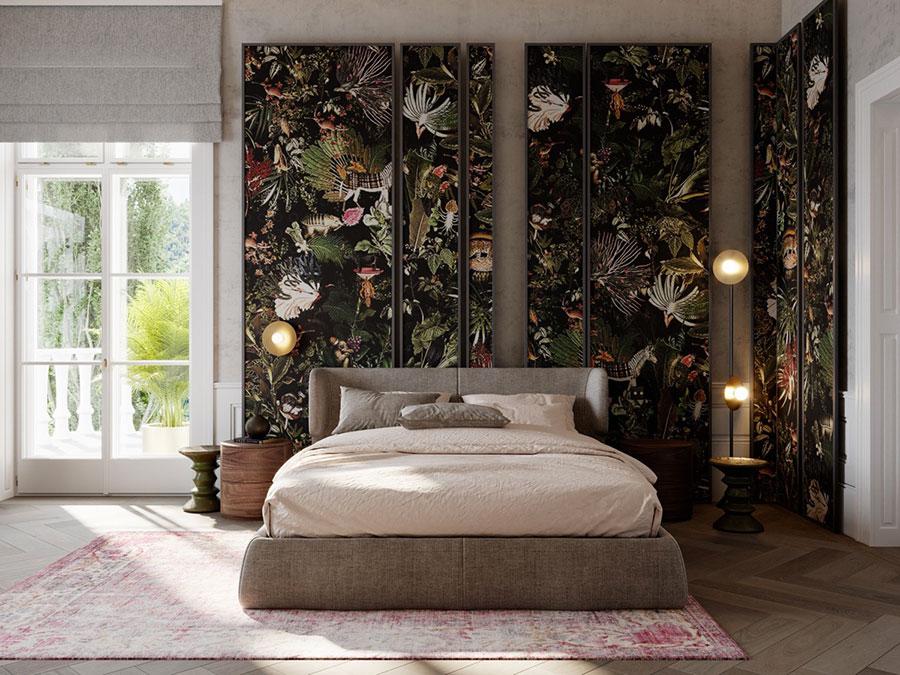 Idee per decorare la camera da letto n.11