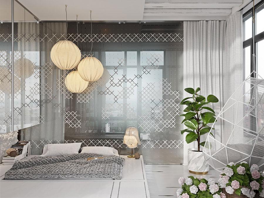 Idee per decorare la camera da letto n.12