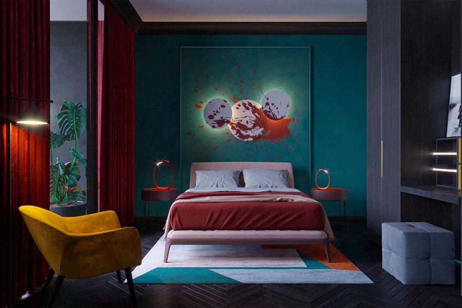 Idee per decorare la camera da letto n.13