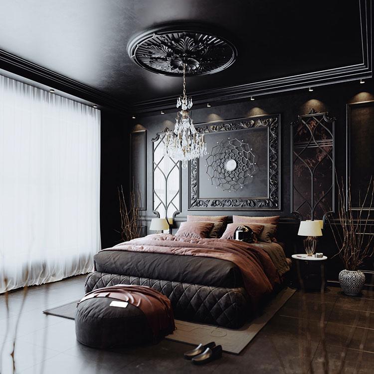Idee per decorare la camera da letto n.15