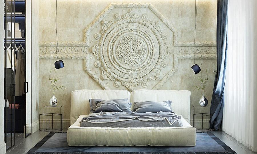 Idee per decorare la camera da letto n.16