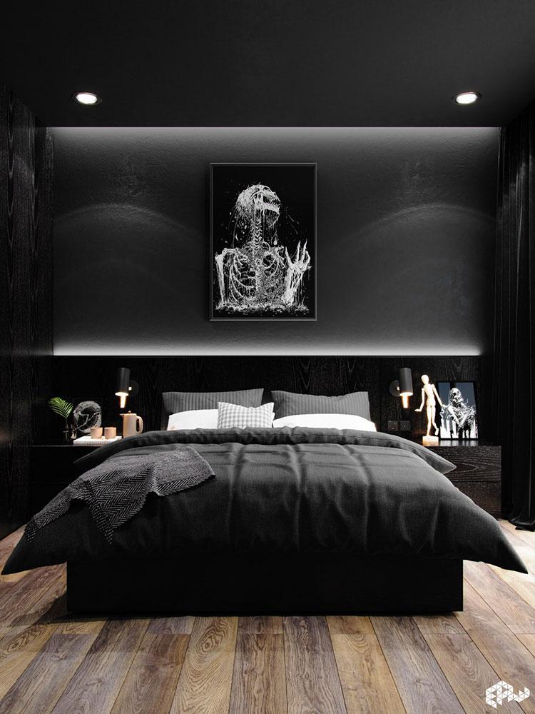 Idee per decorare la camera da letto n.17