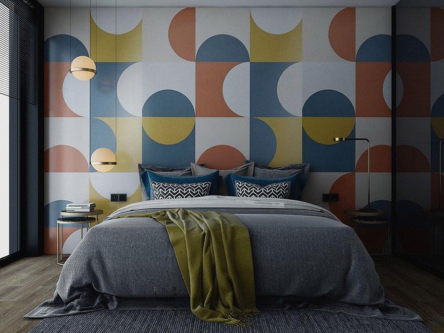 Idee per decorare la camera da letto n.18