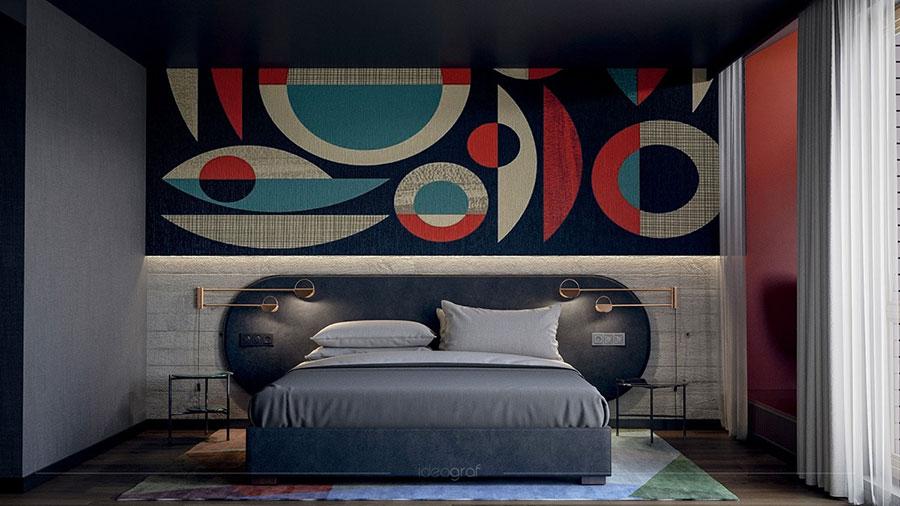Idee per decorare la camera da letto n.19